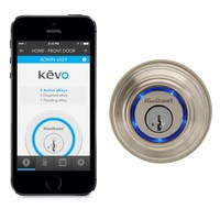 Kwikset Kevo Wireless-Enabled Deadbolt Lock - Apple Store for Business (U.S.)