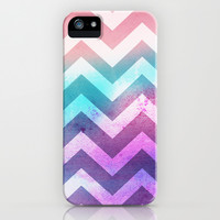 Watercolor Chevron iPhone & iPod Case by Whitney Werner