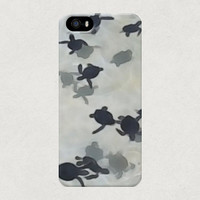 Turtles in the Sea/Ocean iPhone 4 4s 5 5s 5c Samsung Galaxy S4 S3 Case