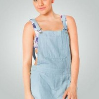 Blue Overalls with Adjustable Straps