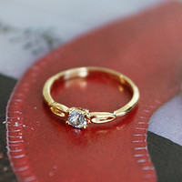 New Year Resolution Promise Ring