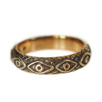 Pamela Love Bronze Ajna Ring