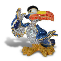 The Lion King Jeweled Mini Figurine by Arribas - Zazu