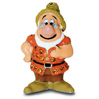 Doc Jeweled Mini Figurine by Arribas - Snow White and the Seven Dwarfs