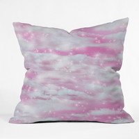Lisa Argyropoulos Dream Big In Pink Outdoor Throw Pillow