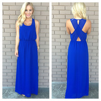 Bow to Royalty Maxi Dress