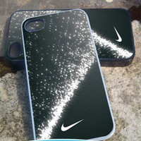 Nike Diamond Dust - iPhone 4/4s/5/5c/5s Case - Samsung Galaxy S2/S3/S4 - Blackberry z10- iPod 4/5 Case - Black or White