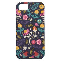 Shabby Chic Vintage Ditsy Floral Pattern iPhone 5 Case
