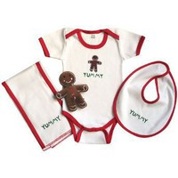 Itty Bittees Holiday Layette Collection 3-6 Months - Yummy