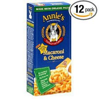Annie`s Homegrown Classic Macaroni & Cheese, 6-Ounce Boxes (Pack of 12)