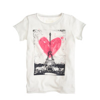 GIRLS' LOVE PARIS TEE