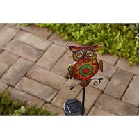 Garden Oasis Owl Solar Garden Stake - Outdoor Living - Outdoor Decor - Lawn Ornaments & Statues
