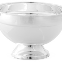 Large Footed Bowl, Silver