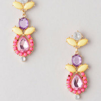 AGOURA JEWELED DROP EARRINGS