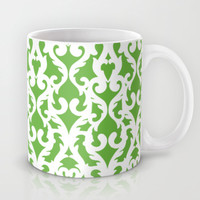 Modern Baroque Green Mug by Aimee St Hill