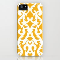 Modern Baroque Yellow iPhone & iPod Case by Aimee St Hill