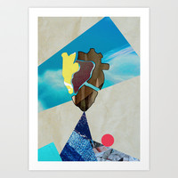 /Open Heart/ Art Print by nigli