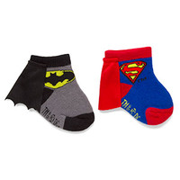 Superhero Infant Caped Socks 2-Pack