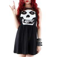 "Women's ""Misfits"" Mesh Dress by Iron Fist (Black)"