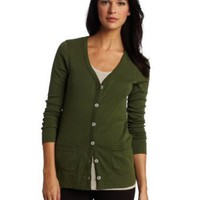 Lilla P Women&#x27;s Classic Long Sleeve Long Cardigan Top