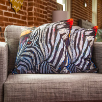 Elizabeth St Hilaire Nelson Seeing Stripes 2 Throw Pillow