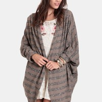 Down To The Wire Cocoon Cardigan