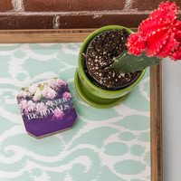 Leah Flores Royals Coaster Set