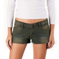 Jessie G. Women's Low Rise Distressed Denim Shorts