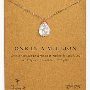 Dogeared 'One in a Million' Boxed Keshi Pearl Necklace | Nordstrom