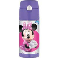 Thermos Funtainer Bottle, Minnie Mouse, 12 Ounce
