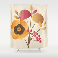 Memorable Shower Curtain by Ramon Martinez Jr