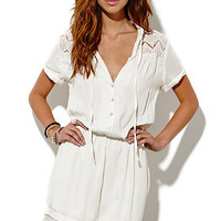 Some Days Lovin Tambourine Lace Jumpsuit at PacSun.com