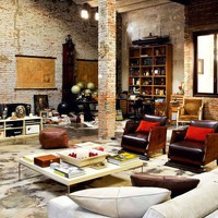 Bomb Shelter to Luxurious Loft » Curbly | DIY Design Community « Keywords: design, renovation, Brick