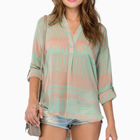 Cute As A Button Blouse $36
