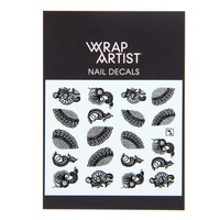 Wrap Artist Nail Decals - Laced Up