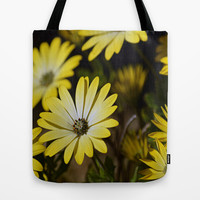 Retro Daisies Tote Bag by Shalisa Photography | Society6