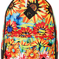 The Scholar Backpack in Sunfloral