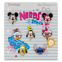 Mickey Mouse and Friends ''Nerds'' Pin Set