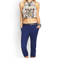 FOREVER 21 Fresh Slim-Fit Chinos