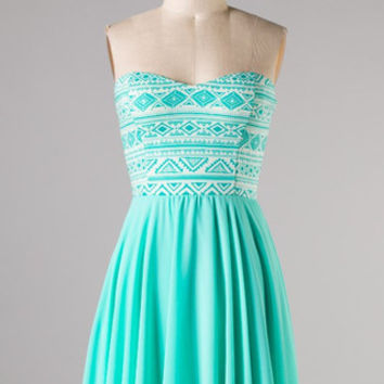 Resort Fling Dress - Mint - Hazel & Olive