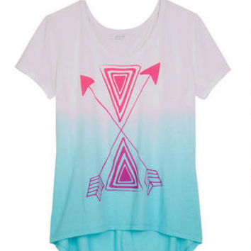 Dip-Dye Arrow Tee