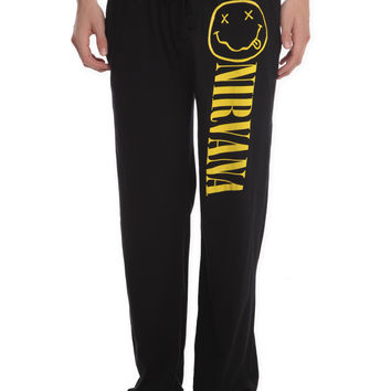Nirvana Smiley Men's Pajama Pants