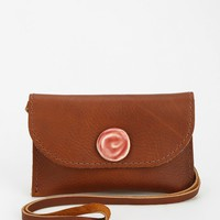 Leelanau Trading Co. Leather Phone Pouch - Urban Outfitters