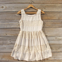 Snow Frost Lace Dress