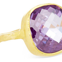 Cushion-Cut Cocktail Ring, AmethystNIKKI BAKER