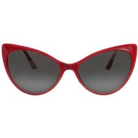 Feeling Catty Sunglasses in Red