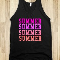 SUMMER SUMMER - glamfoxx.com - Skreened T-shirts, Organic Shirts, Hoodies, Kids Tees, Baby One-Pieces and Tote Bags