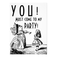 YOU! Must come to my PARTY! (Red Queen & Alice)