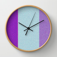 Re-Created Interference ONE No. 23 Wall Clock by Robert S. Lee