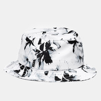 Huf Floral Bucket Hat - White at Urban Industry